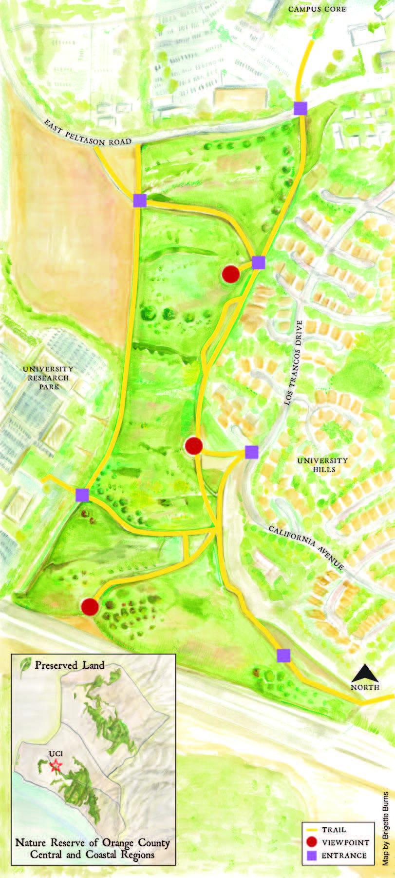 Trail Map EcoPreserve